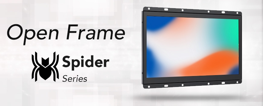 Monitores Touch Open Frame