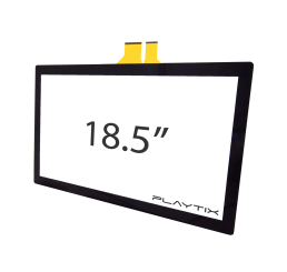 "KIT PAINEL TOUCH SCREEN CAPACITIVO 18.5"" WIDESCREEN 10 TOQUES - USB"
