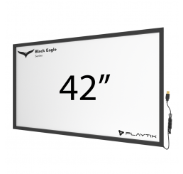 "TOUCH FRAME INFRAVERMELHO 42"" WIDESCREEN - SÉRIE BLACK EAGLE ULTRA"