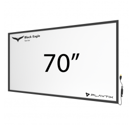 "TOUCH FRAME INFRAVERMELHO 70"" WIDESCREEN - SÉRIE BLACK EAGLE ULTRA"